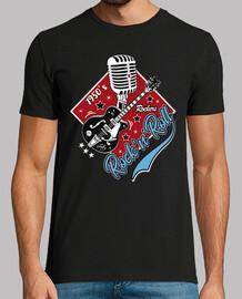 t-shirt musica vintage t-shirt musica rock rockabilly rockers rock and roll chitarra