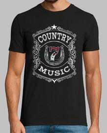 t-shirt musique country nashville retro