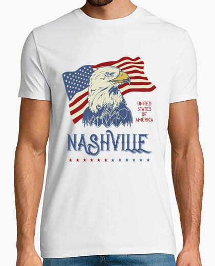 Tee-shirt t-shirt nashville aigles tennessee