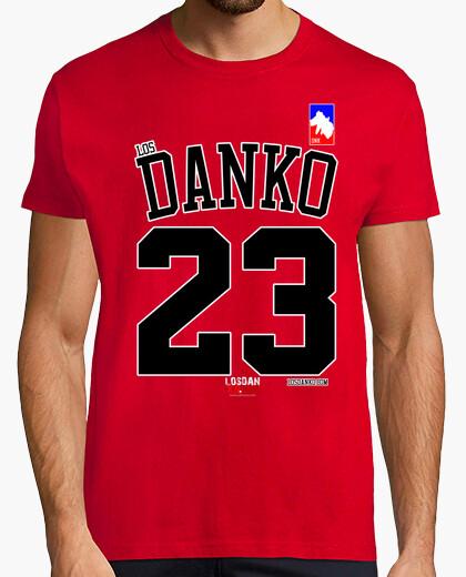 T-shirt nba bulls danko