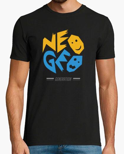 T-shirt neo geo generazione