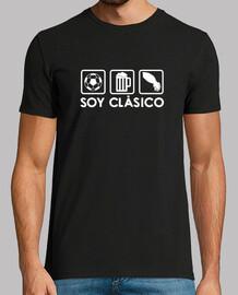 t-shirt nera e logo bianco