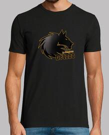 t-shirt nera ufficiale