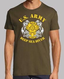 t-shirt nous marine plongeur mod.2-2 profonde