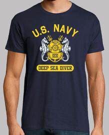 t-shirt nous marine plongeur mod.6-2 profonde