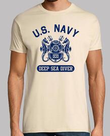 t-shirt nous marine plongeur mod.6-3 profonde