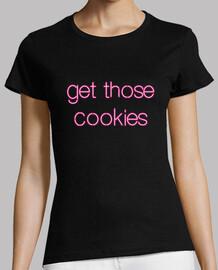 t-shirt obtenir ces cookies