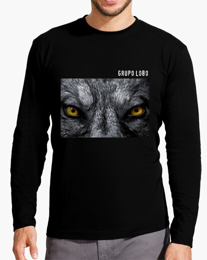 T-shirt occhi di gruppo lupo