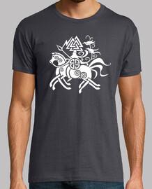 t-shirt odin & sleipnir