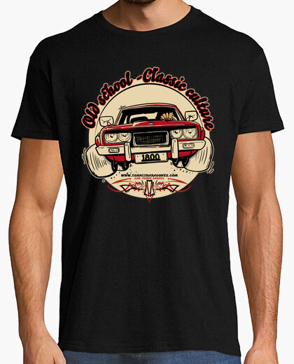 T-shirt old school-c le cult sic ure 124-1800