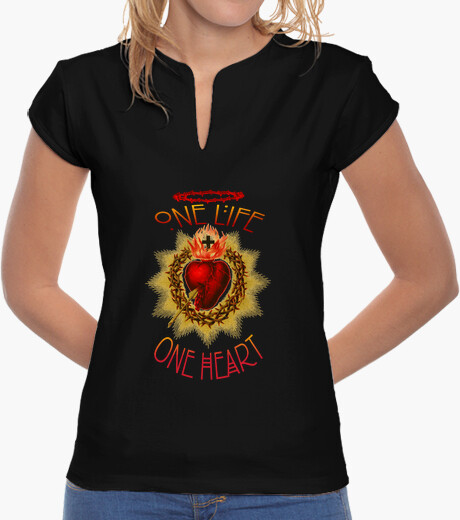 T-shirt ONE LIFE, ONE HEART