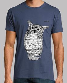 t-shirt owl hanton