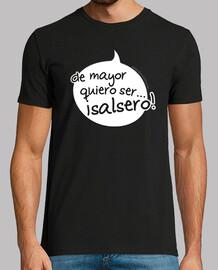 t-shirt panino mayor vuole essere salsa