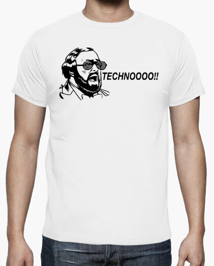 T-shirt Pavarotti Techno