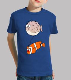 t-shirt pesce