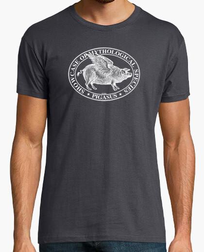 T-shirt pigasus bianco