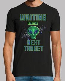 t-shirt pixel alien ufo aliens vintage spazio vintage