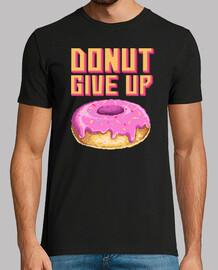 t-shirt pixel art ciambella dolce umorismo ciambelle anni '80 e '90