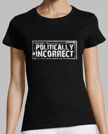 t-shirt politicamente scorretta