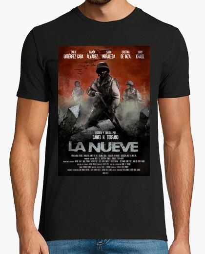 T-shirt poster di maglia di supporto dei nove