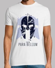 t-shirt pour bellum bleu