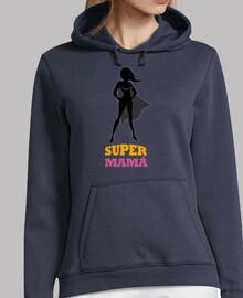 t-shirt pour les mères supermamá