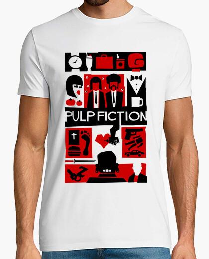 T-shirt Pulp Fiction (Saul Bass Style)