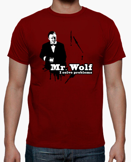 T-shirt pulp narrativa: mr. lupo