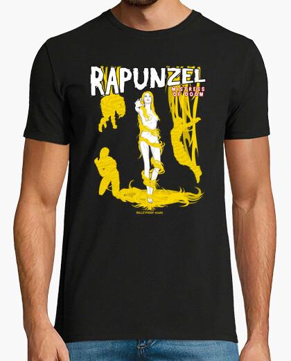 T-shirt pulp princess - rapunzel