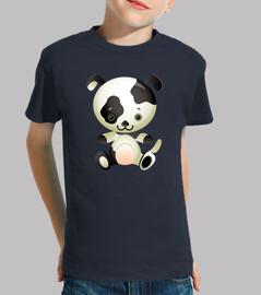 t-shirt puppy child model