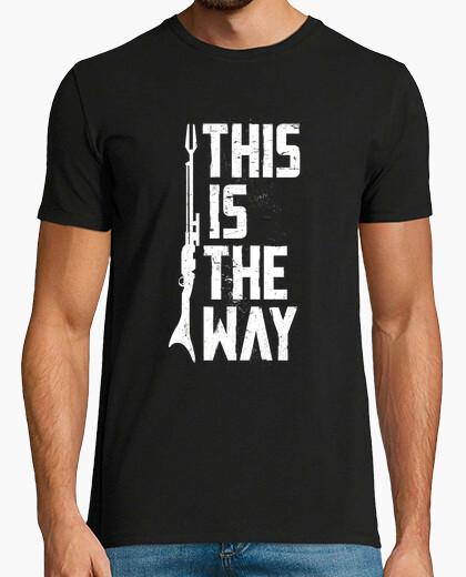 T-shirt questo è il modo