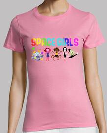 t-shirt ragazze dello spazio
