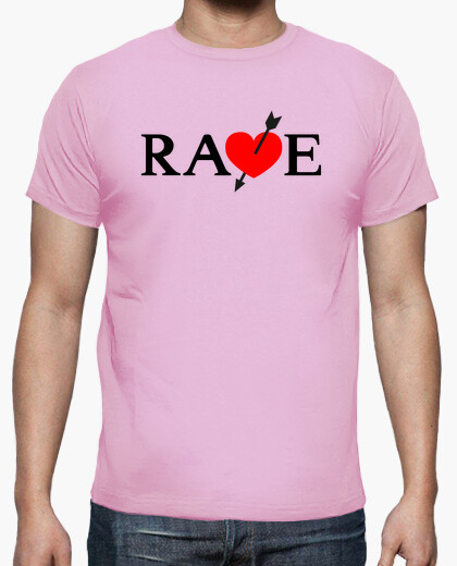 T-shirt rave, t vincent catherine gioco