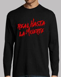 t-shirt reale fino alla morte nera