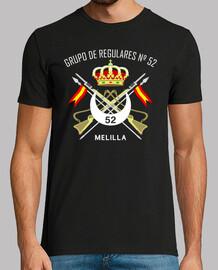 t-shirt regolare mod.5 52 melilla
