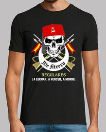 t-shirt regolare teschio mod.1