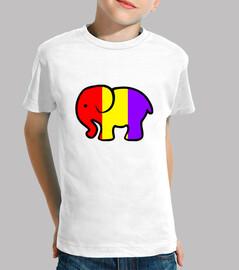 t-shirt républicain infantile