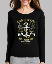 t-shirt rétro 1971 ancre marins années 70 millésime aventures mer