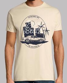 t-shirt retro 1972 vintage palm beach vacances des années 70