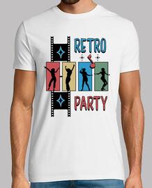 t-shirt retro style années 50-60 fête rockabilly