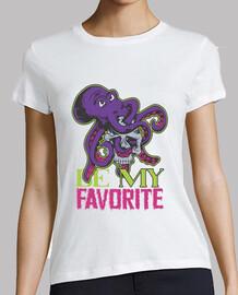 t-shirt rétro vintage pieuvre