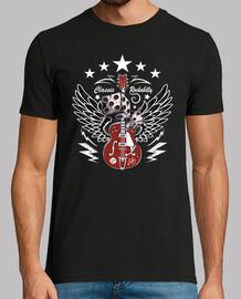 t-shirt rock n roll guitare rockabilly rockers USA