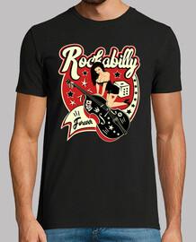 t-shirt rock rockabilly music vintage pin up rockers rock n roll