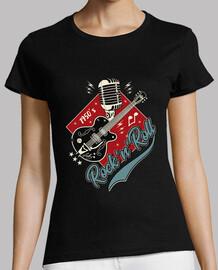 t-shirt rockabilly - rocker der 50er jahre vintage - usa