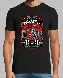 t-shirt rockabilly anni '50 hotrod rocker usa