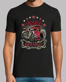 t-shirt rockabilly classique des années 50 hotrod USA 1958