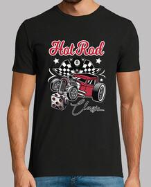 t-shirt rockabilly des années 50 hotrod USA