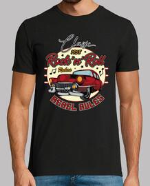 t-shirt rockabilly des années 50 rockers vintage 1958 USA