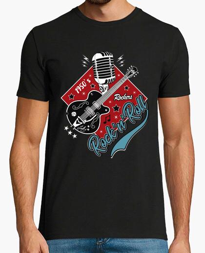 Tee-shirt t-shirt rockabilly des années 50 rockers vintage USA