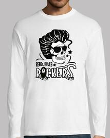 t-shirt rockabilly musique psychobilly skull rockers vintage USA